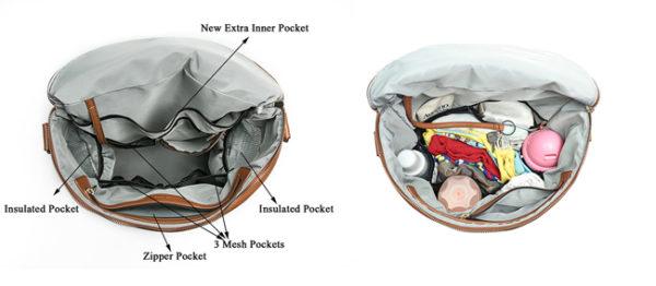 diaper bag in bag organizer
