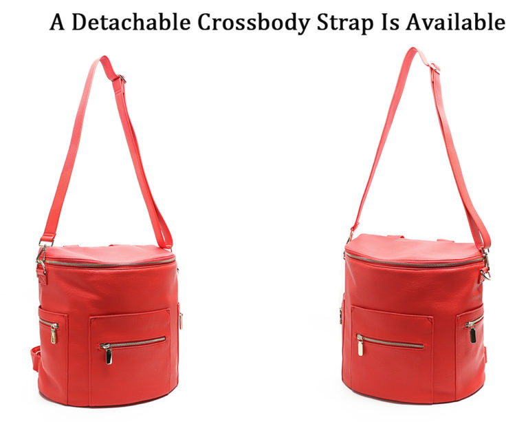 miss fong changing bag red-crossbody strap