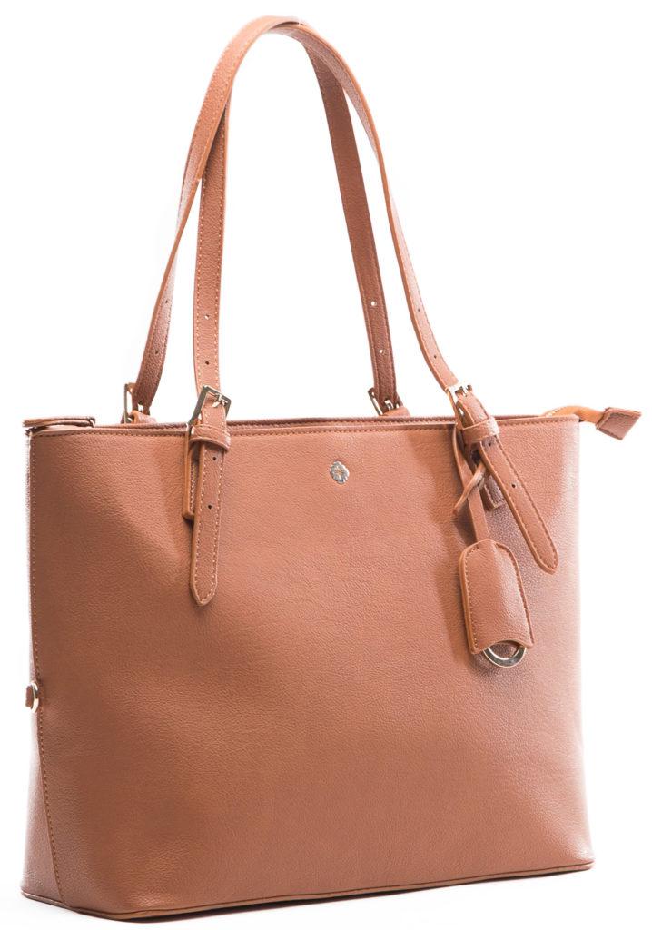 miss fong women tote bag side-brown