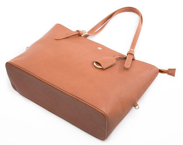Miss Fong Women Tote Bag-Brown