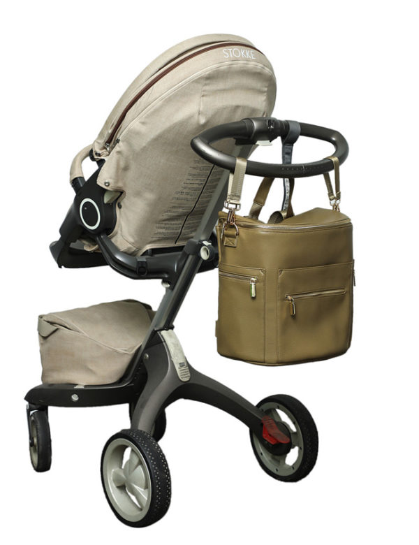 baby bag with stroller straps by miss fong ivy