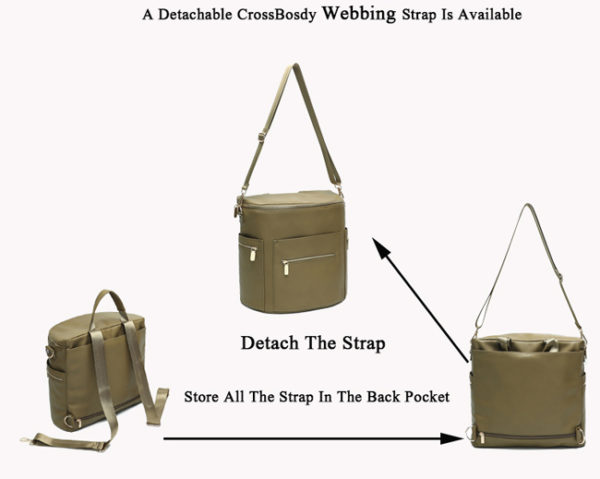 diaper bag backpack olive by miss fong ivy