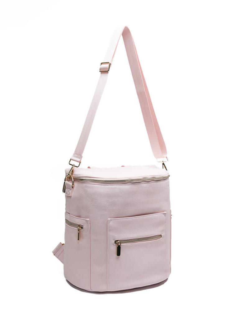diaper bag backpack with crossbody bag strap