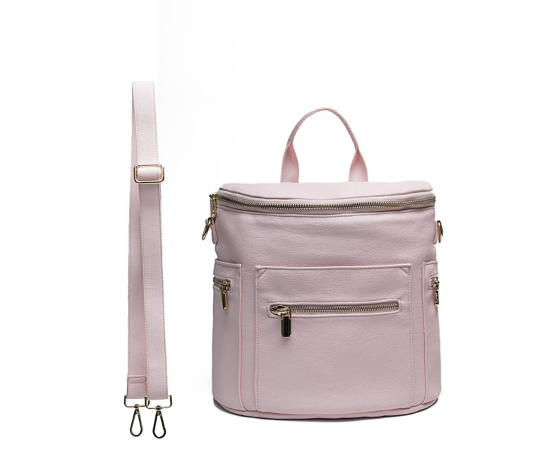 pink toddler backpack