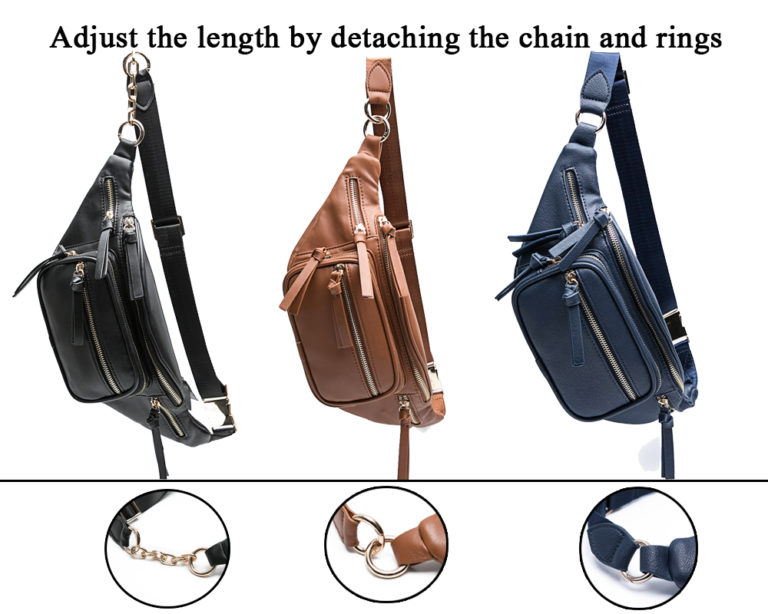 belt bag for men with adjustable belt
