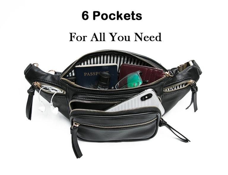 waist bag with pockets