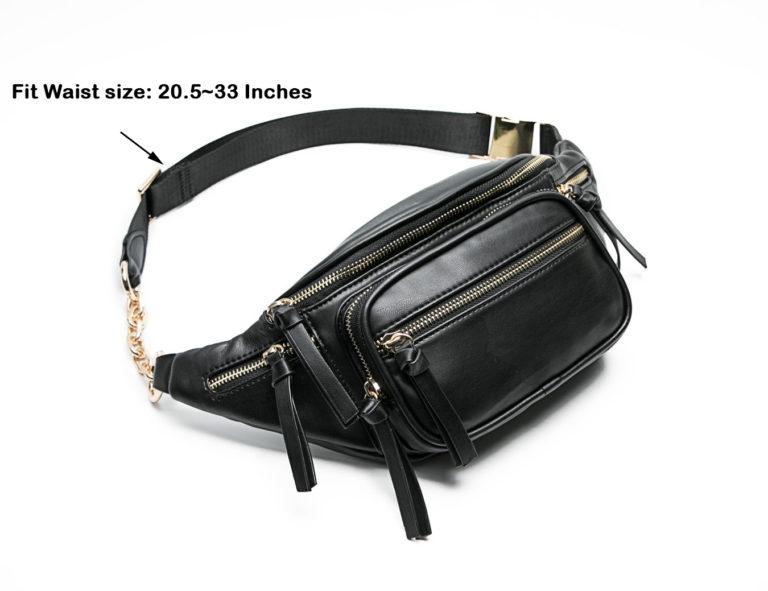leather bumb bag