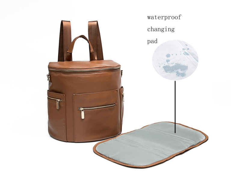 Backpack with Changing Pad