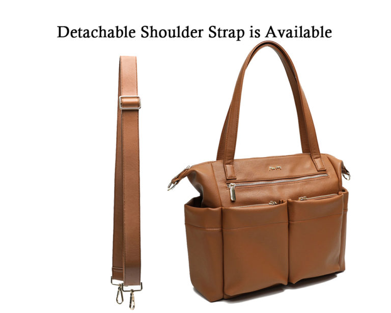 comfortable with the option of an adjustable shoulder strap