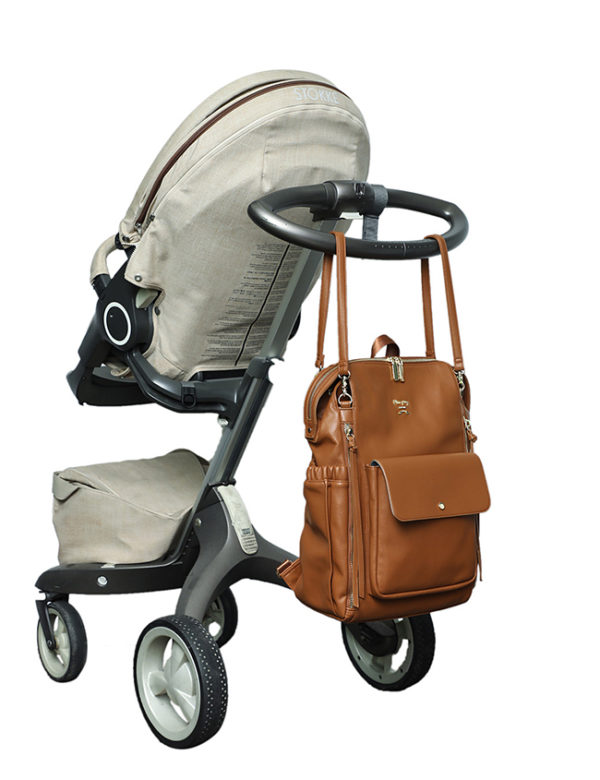 diaper bag with stroller straps love and peace