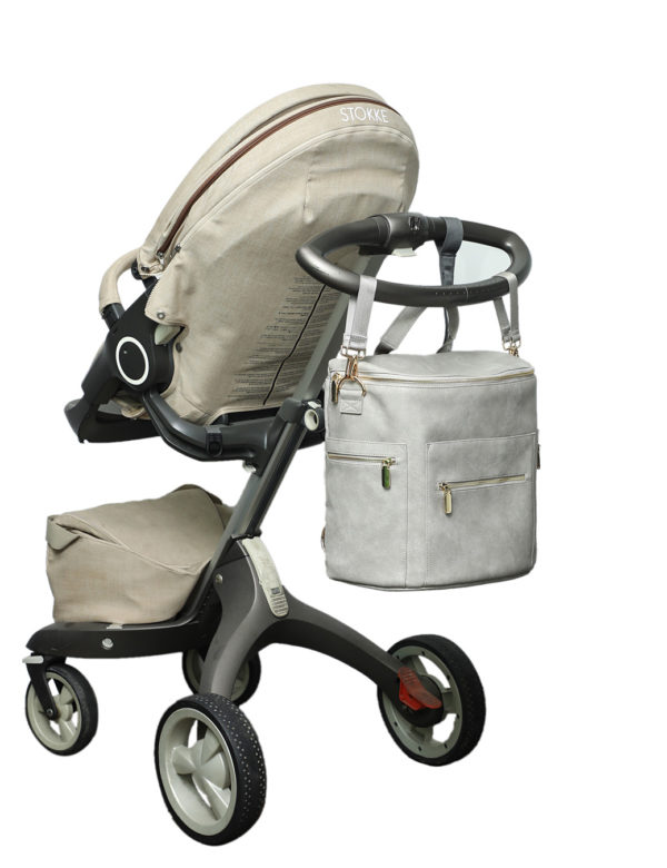 diaper bag backpack with stroller strap