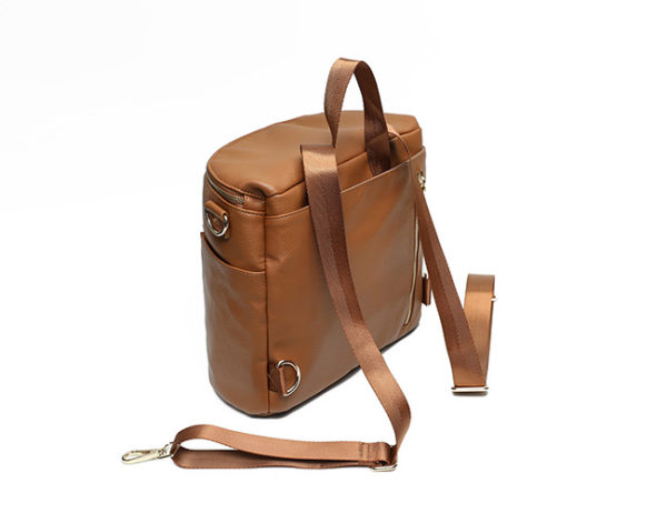 backpack straps of mini new brown