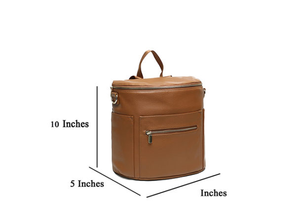 size of miss fong new brown mini