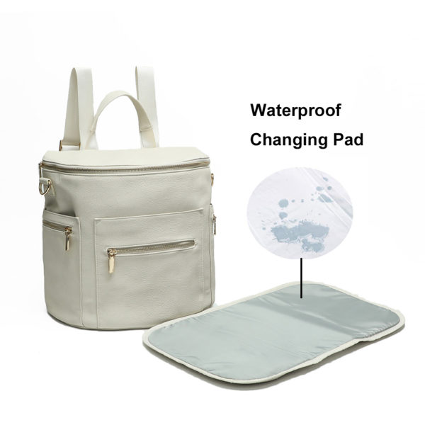 diaper bag backpack with changing pad