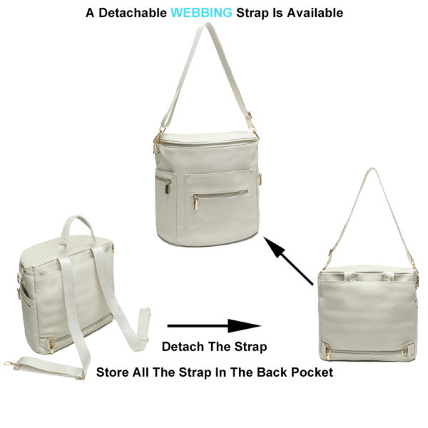 miss fong diaper bag with detachable straps
