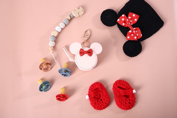 mickey mouse pacifier holder