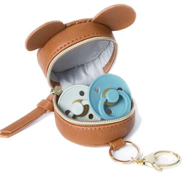 miss fong pacifier holder can hold 2 pacifiers