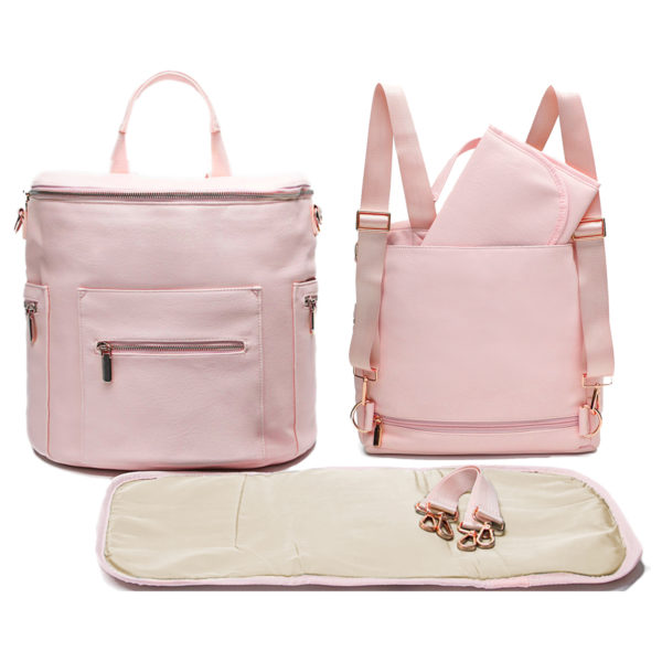diaper bag by miss fong-pink rose