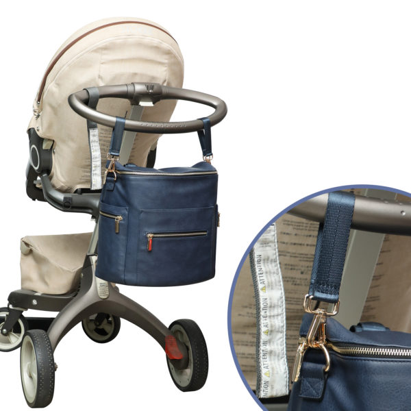 diaper bag with stroller straps by missfong
