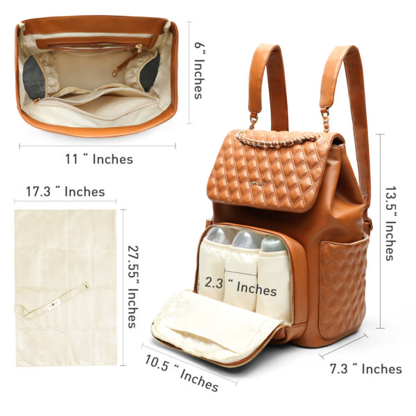 diaper bag with changing pad by miss fong