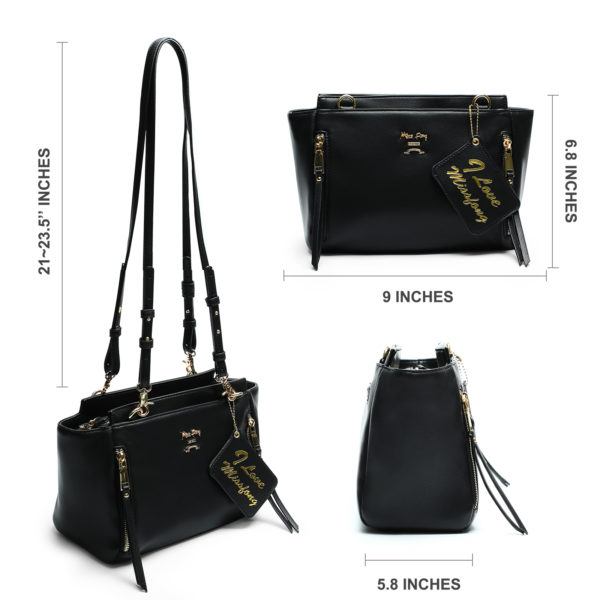 crossbody bags for women with detachable straps by miss fong