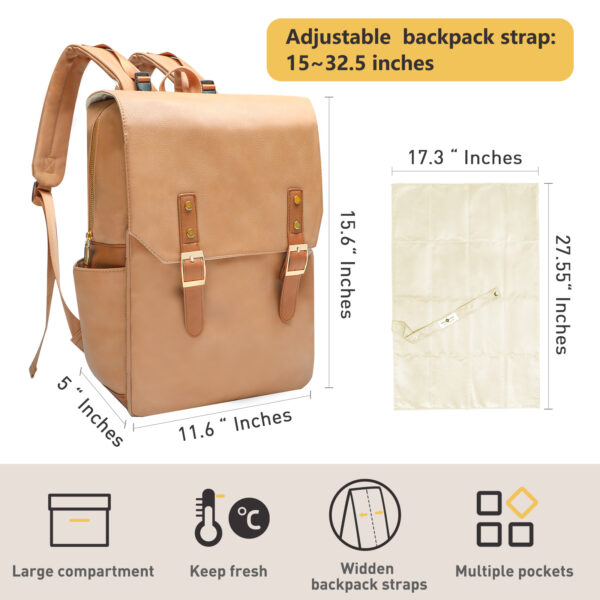 Fit in 1415.6 Inch Computer Business Backpacks by miss fong