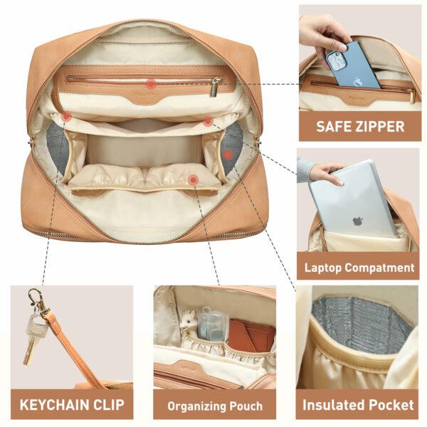 fashionable diaper bag