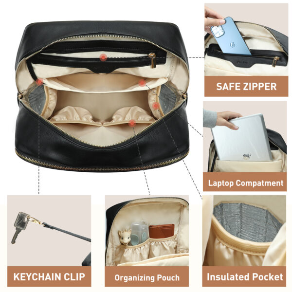 fashionable diaper bag
