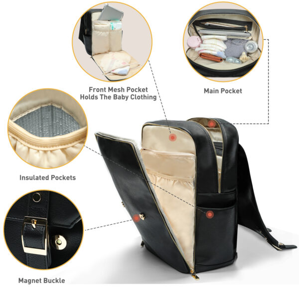 fashionable diaper bag by miss fong
